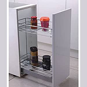Pull out cabinet drawer 12 kitchen organizer for Amazon kitchen cabinets