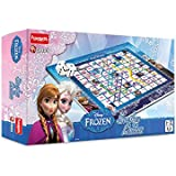 Funskool  4975200 Disney Frozen Snake And Ladders Game, Multi Color