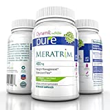 Meratrim Pure Weight Loss Slimming Formula 400mg Daily, Patent Pending Formula Clinically Proven to Lose Weight Starting in 2 Weeks, Stimulant Free - 60 Count - This Offer Is for One Bottle Manufactured in a USA Based GMP Organic Certified Facility- Guaranteed!