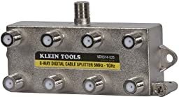 Klein Tools VDV814-635 Coax Splitter - CATV, 8-Way, 5MHz - 1GHz
