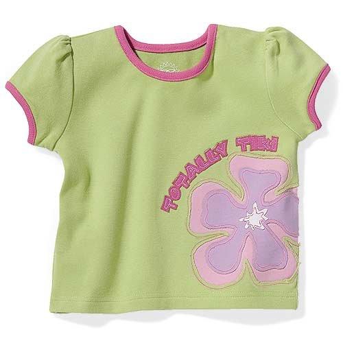 Sun Smarties Girl's T-shirts Totally Tiki 24 mos.