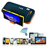 FEYE® 3 In 1 Wireless Bluetooth Stereo Speaker, Tablet Stand, 5000mAh Power Bank Backup Charger Portable, For...