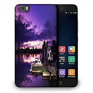 Snoogg Nite Sea View Designer Protective Phone Back Case Cover For Samsung Galaxy J1