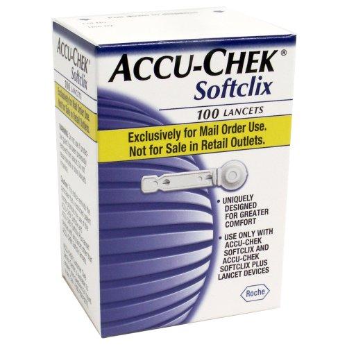 ACCU-CHEK Softclix Lancets, 100-Count Box