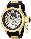 Invicta 17264 Men's Russian Diver Mechanical Silver Dial Black Rubber Strap Dive Watch