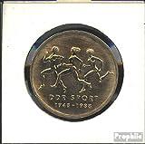 DDR (RDA) Jägernr: 1623 1988 Un Neusilber 1988 10 marcos Asociación de Deportes (monedas para los coleccionistas)