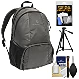 Tamrac Tradewind 24 Photo DSLR Camera Backpack Case (Slate Grey) with Tripod + Kit