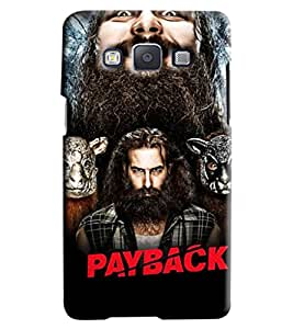 Blue Throat Payback Star Cast Printed Designer Back Cover For Samsung Galaxy A7