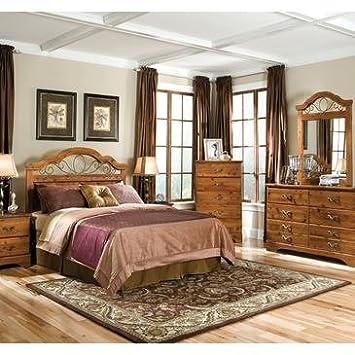 Standard Furniture Hester Heights 4 Piece Panel Headboard Bedroom Set