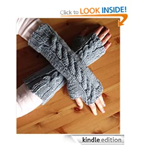 Patterns : How To Knit Fingerless Gloves or Wrist Warmers (Easy One