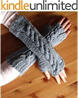7 Fingerless Gloves Knitting Patterns : How To Knit Fingerless Gloves or Wrist Warmers (Easy One Day Project)