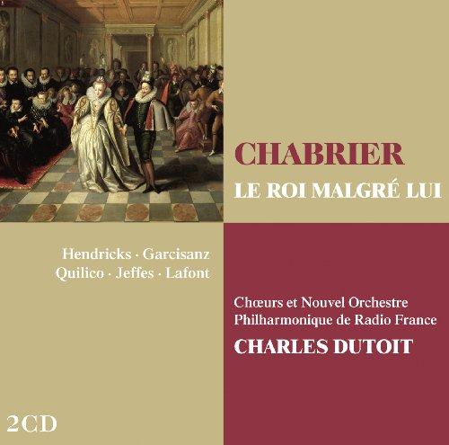 Le roi malgre lui - Chabrier  - CD