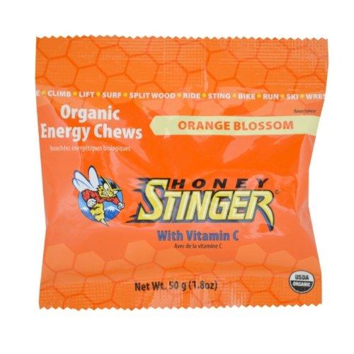 Honey Stinger Orange Blossom Energy Chews, 1.8-Ounce Bags (Pack of 12)