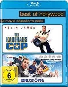 Best of Hollywood 2012 - 2 Movie Collector's Pack 47 (Der Kaufhaus Cop / Kindsköpfe) [Blu-ray]