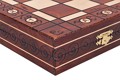 The Jarilo - Unique Wood Chess Set, Pieces, Chessboard & Storage 6