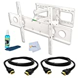 Full Motion Tilting Wall Mount (Whi