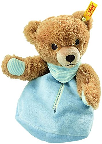 Steiff Sleep-Well-Bear Heat Cushion - Blue