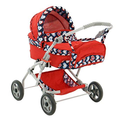 Puppenwagen Babywanne Trage Spielzeug JOLA (Herz