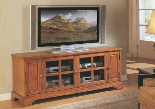 Cheap All new item Oak finish wood TV / Plasma / LCD stand entertainment center (AMB F4413)