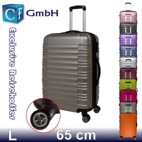 LG2088 Gold in Größe L Koffer Reisekoffer Koffer