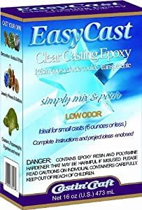 Environmental Technology 16-Ounce Kit Casting' Craft Casting Epoxy, Clear