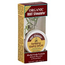 Organic Root Stimulator Herbal Scalp Formula, Fertilizing Temple Balm, 2 oz.
