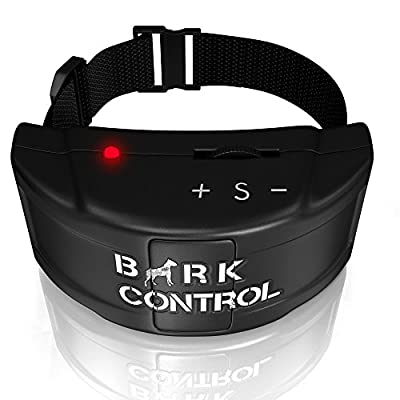 Bark Control Pro - Dog Bark Collar - The Quick and Effective Small and Large Breed Shock Collar