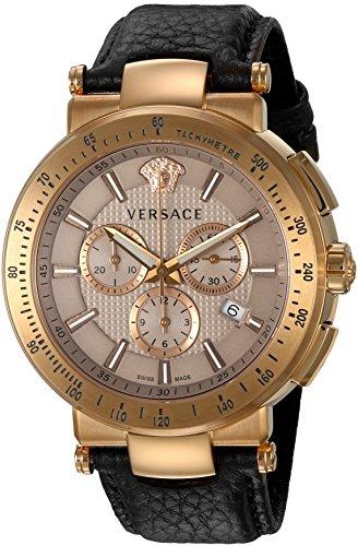 Versace-Mens-VFG110015-Mystique-Sport-Analog-Display-Quartz-Brown-Watch
