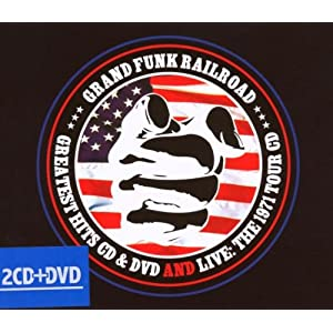 grand funk railroad greatest hits dvd and live the 1971. Black Bedroom Furniture Sets. Home Design Ideas