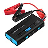 VicTsing Jump Starter, 500A Peak 13600mAh Car Battery Jump Starter Portable Power Bank, Auto Battery Booster with Dual USB Charging Port, Flashlight