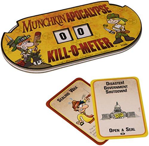 Munchkin Apocalypse Kill-O-Meter Game