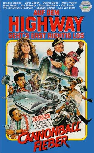 Cannonball Fieber - Auf dem Highway geht's erst richtig los [VHS]