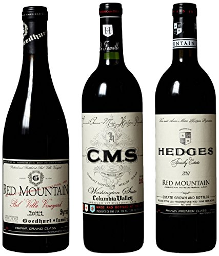 "Hedges Family Estate ""Washington State Of Mind"" Mixed Pack, 3 X 750 Ml"