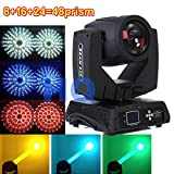 1pcs BLACK 48 prism 230w 7r sharpy beam spot wash moving head light