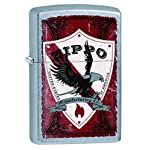 Zippo Vintage Shield Pocket Lighter, Street Chrome