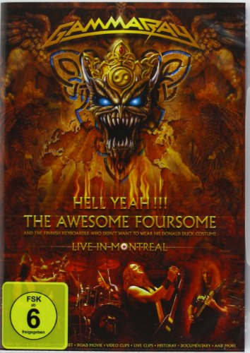 Gamma Ray - Hell Yeah - The Awesome - Dvd