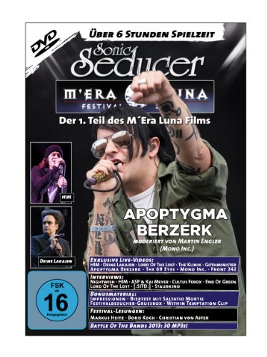 M'Era Luna 2013 - Der Film, Teil 1 mit über 6 Stunden Spielzeit + Sonic Seducer 12-13/01-14, Bands: Within Temptation & Tarja (Titel), Nightwish, Leaves Eyes, Mono Inc., Saltatio Mortis u.v.m.