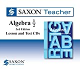 Saxon Algebra 1/2 Homeschool: Saxon Teacher CD ROM 3rd Edition 2010