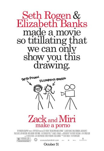 Zack and Miri Make A Porno 11 x 17 Movie Poster - Style D