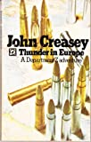 Thunder in Europe (0090011902) by Creasey, John