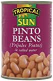 Tropica Sun Pinto Beans 400 g (pack of 12)
