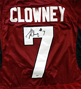 Jadeveon Clowney Autographed Hand Signed Under Armour SC Gamecocks Jersey PSA DNA... by Hall of Fame Memorabilia