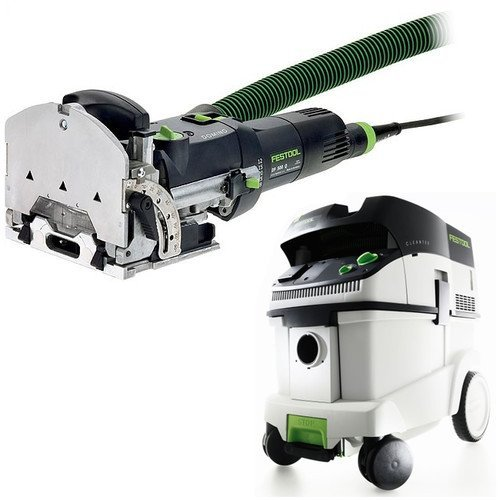 Festool DF 500 Q Domino with T-LOC + CT 36 Dust Extractor Package (Ct Loc compare prices)