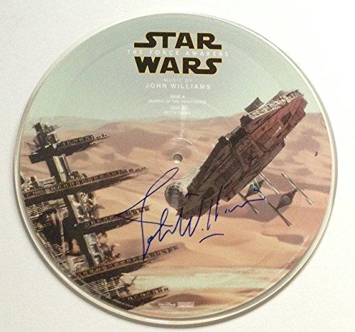 john-williams-signed-star-wars-the-force-awakens-picture-disk-soundtrack-album-w-psa-dna