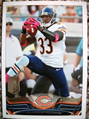 2013 Topps #85 Charles Tillman Trading Card in a Protective Case - Chicago Bears