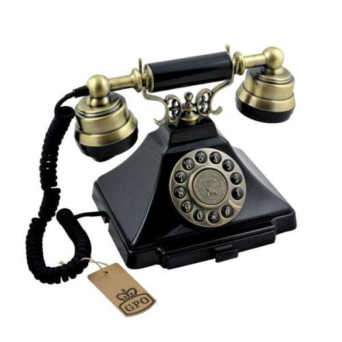 :PROTELX, Gpo Duke Traditional Rotary Dialling Push Button Telephone Reviews