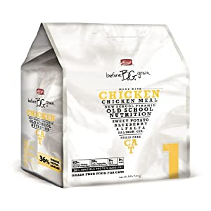 Merrick Before Grain #1 Chicken Dry Cat Food, 3.3-Pound Bag
