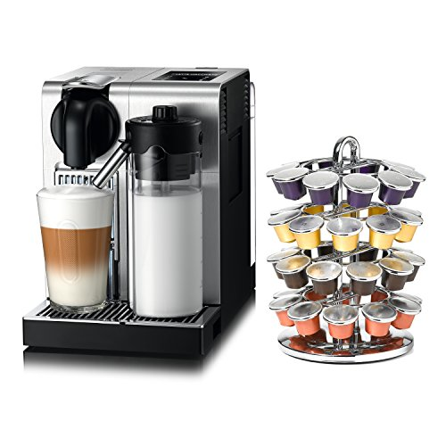 delonghi nespresso lattissima pro stainless steel capsule espresso and cappuccino machine with. Black Bedroom Furniture Sets. Home Design Ideas