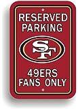 Bsi Products Bsi NFL San Francisco 49Er's Reserved Parking Sign