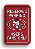 NFL San Francisco 49Ers Plastic Parking Sign at Amazon.com